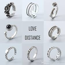 rings silver bands images S925 rings for women silver rings vintage band rings mixed designs jpg