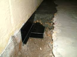 water boss footer drain tri state basement waterproofing