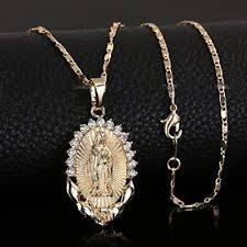 catholic necklaces women pendant necklace gold religious catholic