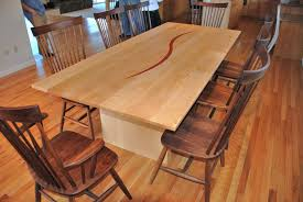 solid maple dining table solid maple kitchen table kitchen tables design