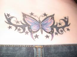 colorful butterfly tattoos on lower back 25 best butterfly