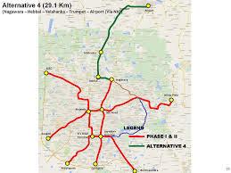 Metro Violet Line Map by Bengaluru Metro Namma ನಮ ಮ ಮ ಟ ರ