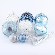 smith 50ct shatterproof ornaments with shiny matte