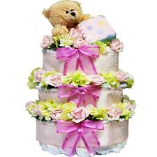 of appreciation gift baskets sweet baby cake gift tower