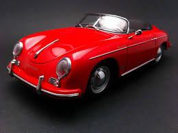 porsche speedster james dean 356 a speedster red 1 18 autoart 77864