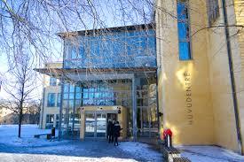 file hogskolan i skövde entrance winter 2011 jpg
