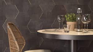 textile range pentagon tiles