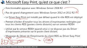 installer bureau à distance tuto rds 2012 r2 impression avec easy print à partir d une session