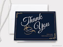 personalized thank you cards printable wedding thank you card personalized thank you card