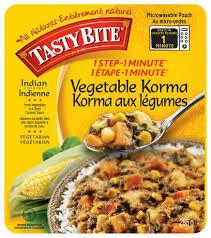 cuisine indon駸ienne korma aux légumes cuisine indienne 1 é 1 minute de tasty bite
