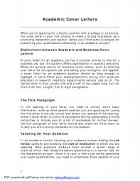 cover letter for teaching position at university best resume gallery