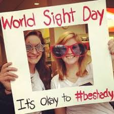 World Blindness Day World Sight Day Special Days Pinterest