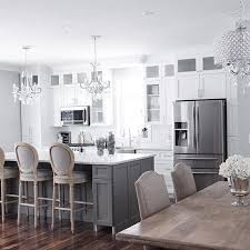 white and kitchen ideas best 25 gray island ideas on gray and white kitchen