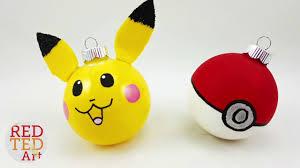 easy pikachu ornaments diy for easy diy