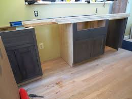 how to install base cabinets with dishwasher installing the kitchen cabinets let s the