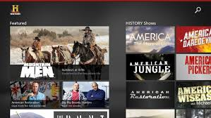 history channel app launched for windows 8 episode and