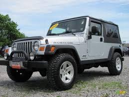 jeep rubicon silver 2006 bright silver metallic jeep wrangler unlimited rubicon 4x4