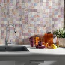 create a summery kitchen with moroccan tiles walls and floors
