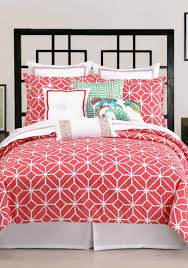 trina turk trellis coral bedding collection belk