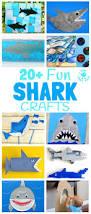 20 fun shark crafts kids craft room