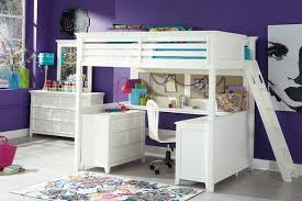 Bunk Bed With Desk Mixing Work With Pleasure Loft Beds With Desks Underneath