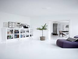 white home interiors white cement
