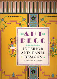art deco interior and panel designs stephen calloway