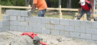 how to build a concrete block house block foundation walls