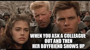 Angry Boyfriend Meme - ask a colleague out imgflip