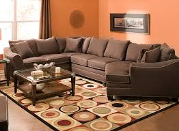 Suede Sectional Sofas Foresthill 4 Pc Microfiber Sectional Sofa Pc Basements And