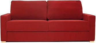 Flat Pack Settee Ula Flat Pack Sofas Red Chenile Fabric Amazon Co Uk Kitchen U0026 Home