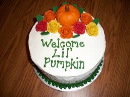 lil u0027 pumpkin baby shower cakecentral com