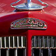 1937 packard 115 c cabriolet ornament 2 photograph by reger