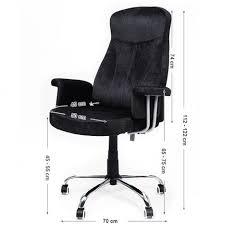 bureau à hauteur variable fauteuil de bureau à hauteur réglable tissu noir neuf top prix pas