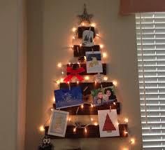 christmas holder diy christmas decor wooden tree christmas card holder