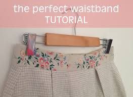 How To Blind Stitch By Hand How To Sew The Perfect Waistband U2013 By Hand London