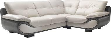canapé d angle en cuir pas cher canapé d angle cuir nelia canapé d angle pas cher mobilier et