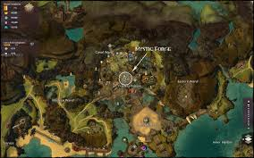 Gw2 World Map by Mystic Forge Location Guild Wars 2 Guild Wars 2 Life