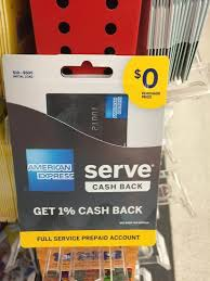serve prepaid card american express launches new serve back card silver serve