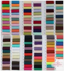 swatches fabric samples colour charts