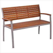ana white of modern slat top outdoor wood bench from modern