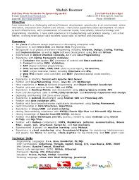 resume web developer resume sample pdf full stack java thumbnail