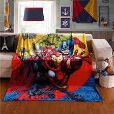 Marvel Baby Bedding Spiderman Superhero Baby Blanket Useful Superhero Baby Blanket