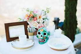 day of the dead wedding day of the dead themed wedding brian 100 layer cake