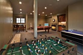 Games For Basement Rec Room by Home Recreation Rooms Gorgeous Slopeside Home Features A