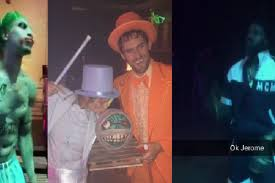 city of pittsburgh halloween the 6 best costumes from lebron james u0027 halloween party ranked