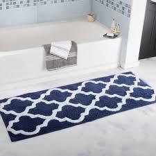 Cotton Bath Rugs Blue Bath Rugs U0026 Mats You U0027ll Love Wayfair