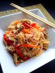 cuisiner vermicelle de riz vermicelle de riz sautées aux légumes et poulet saveurs et douceurs