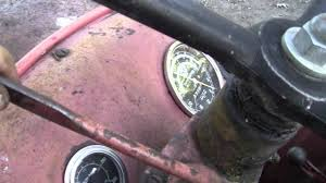 the tractor with no oil pressure youtube