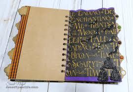 halloween journal halloween smash book junk journal decor8yourlife